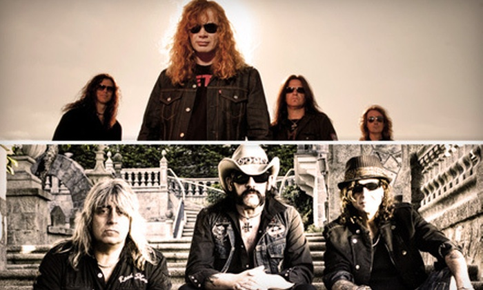 Gigantour - Central Hamilton: One Ticket to Gigantour with Megadeth and Motörhead at Copps Colliseum in Hamilton on February 8 (Up to $72.25 Value)