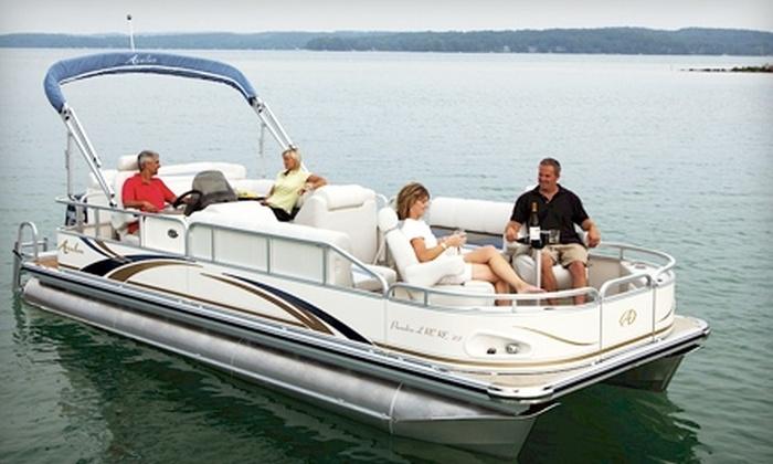 Bartlett Lake Marina - Phoenix: $69 for a Half-Day Pontoon Boat Rental on Bartlett Lake from Bartlett Lake Marina ($190 Value)