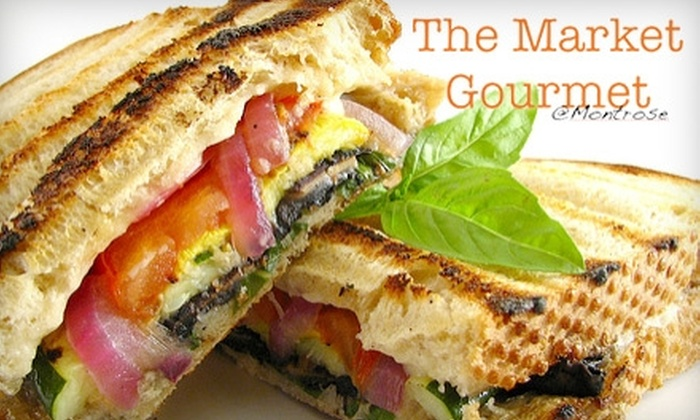 Market Gourmet - Copley: $6 for $12 Worth of Gourmet Café Fare at Market Gourmet