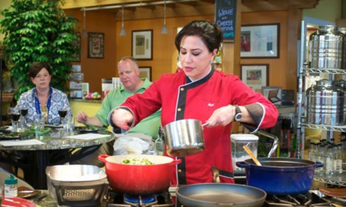 Gourmet Pantry - Blacksburg: $55 for a Cooking Class for Two at Gourmet Pantry in Blacksburg ($110 Value)