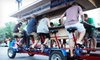 Omaha Patio Ride: Pub-Crawl for Two, Four, or Six from Omaha Patio Ride (Up to 57% Off). Five Options Available.
