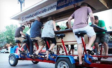 Two Tickets to a Weekday Pub-Crawl on a Sunday, Wednesday, or Thursday (a $60 value) - Omaha Patio Ride in