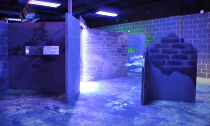 Endless Food & Fun - Huntington Beach: $12 for Two Games of Laser Tag and a $10 Game Card at Endless Food & Fun in Huntington Beach ($25 Value)