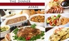 The Dinner A'Fare  - Barclay Downs: $70 for a Pre-Assembled Thanksgiving Dinner (Serving 8–10 People) by The Dinner A'Fare