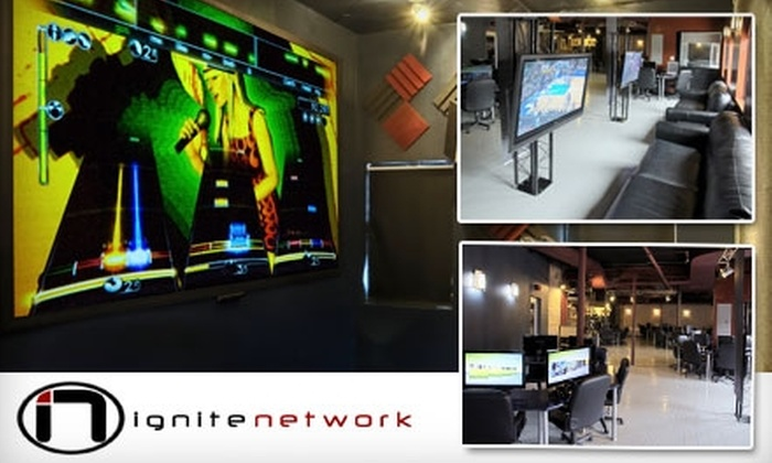 Ignite Network - Roscoe Village: $10 for Six Hours of Gaming at Ignite Network Gaming Lounge ($23 Value)