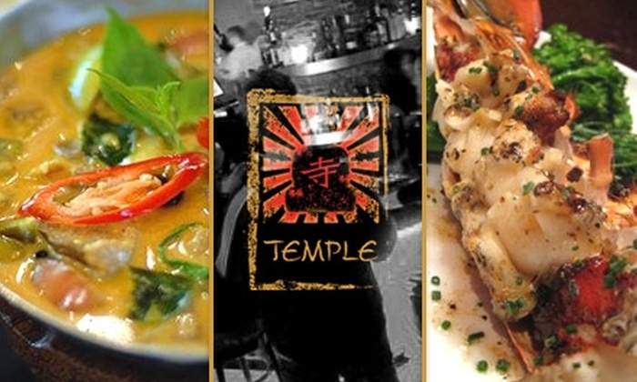 Tara Temple - Ballston - Virginia Square: $15 for $30 Worth of Thai and Japanese Cuisine at Tara Temple