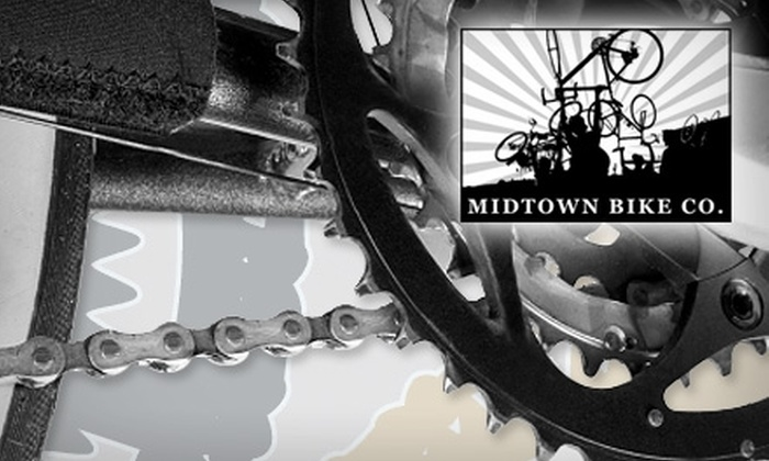 Midtown Bike Co. - South Main Historic District Association: $20 for a Basic Tune-Up at Midtown Bike Co. (Up to $60 Value)