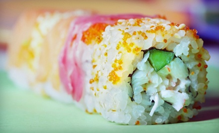 $30 Groupon to Sushi on the Roll - Sushi on the Roll in Medina