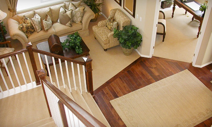 20/20 Services - San Diego: Steam Carpet Cleaning for Four or Eight Rooms Plus Hallway or Stairs from 20/20 Services (Up to 67% Off)