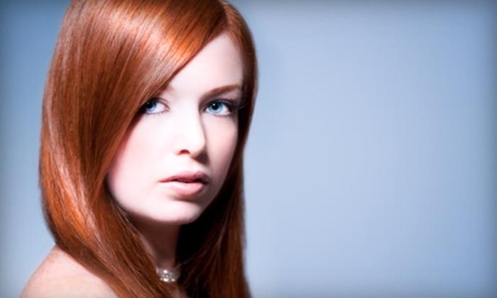 Mena & Co. Salon - Modesto: $30 for a Difiaba Hair-Repair Treatment at Mena & Co. Salon ($60 Value)