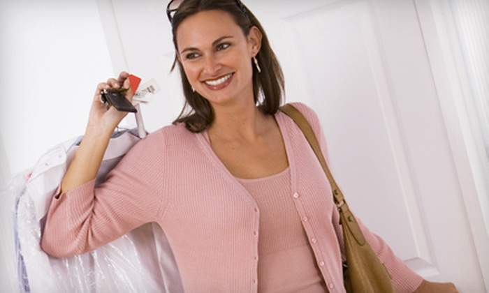E&J Dry Cleaning and Laundry Service - E & J Cleaners: Dry-Cleaning Services at E&J Dry Cleaning and Laundry Service (Up to 60% Off). Three Options Available.
