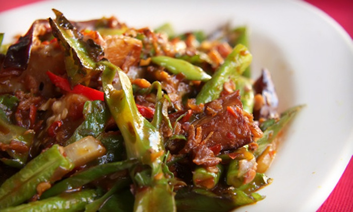 Pacific Spice - Cumming: Asian Fare or Asian Fare for Four or More at Pacific Spice in Cumming (Up to 56% Off)
