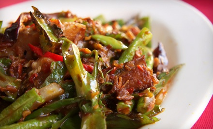 $40 Groupon for Japanese, Thai, and Chinese Fare - Pacific Spice in Cumming