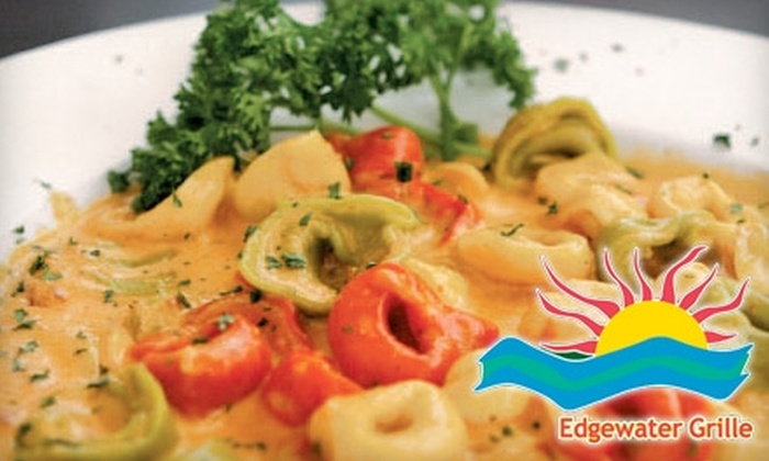 Edgewater Grill - Newburgh: $15 for $30 Worth of American Fare and Drinks at Edgewater Grille