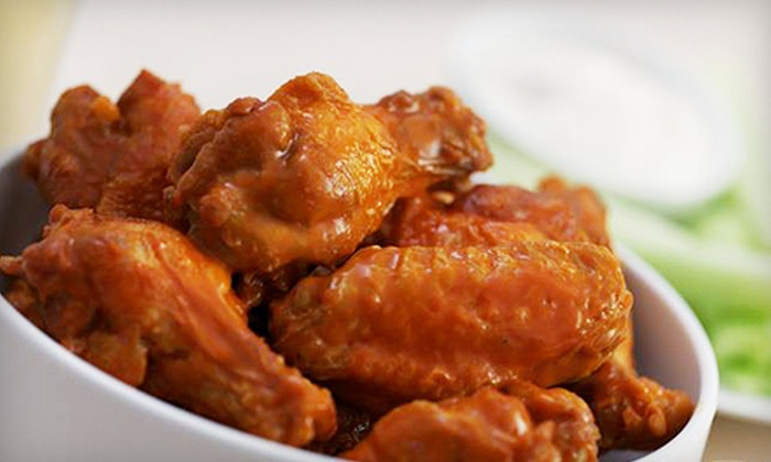 Buffalo Wings and Rings - Schofield: Classic American Fare for Two or Four at Buffalo Wings and Rings in Weston (Up to 52% Off)