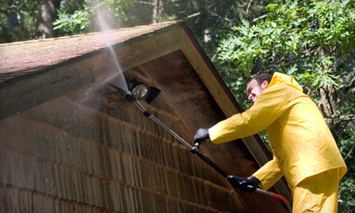 BCG Pressure Washing Services - Houston: Home Pressure Washing for One or Up to Two Stories from BCG Pressure Washing Services (Up to 56% Off)