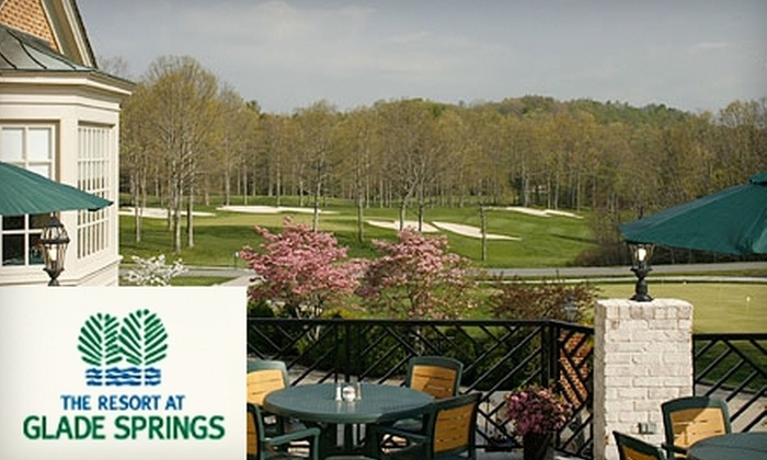 The Resort at Glade Springs - Piedmont Triad: $115 for $235 Toward Room Packages and Activities at The Resort at Glade Springs in Daniels, West Virginia