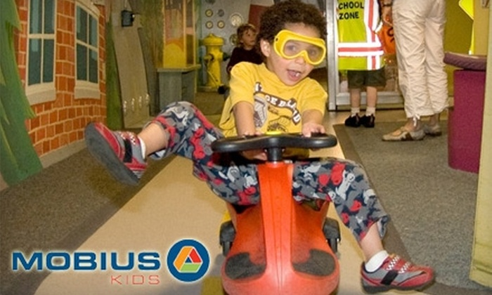 Mobius Kids Children's Museum - West Central: $11 for Four General Admission Tickets to Mobius Kids Children's Museum (Up to $23 Value)