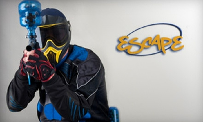 Escape Sonoma County - Rohnert Park: $15 for Three Hours of Paintball, Equipment, and 140 Paintballs at Escape Sonoma County ($31 Value)