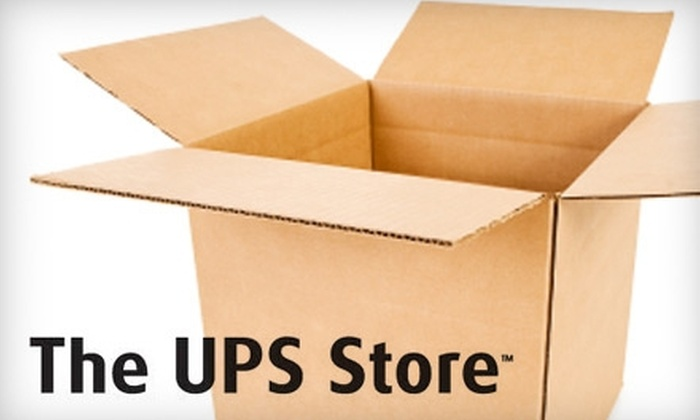 The UPS Store Memphis - Multiple Locations: $12 for $25 Worth of Packing and Shipping at the UPS Store