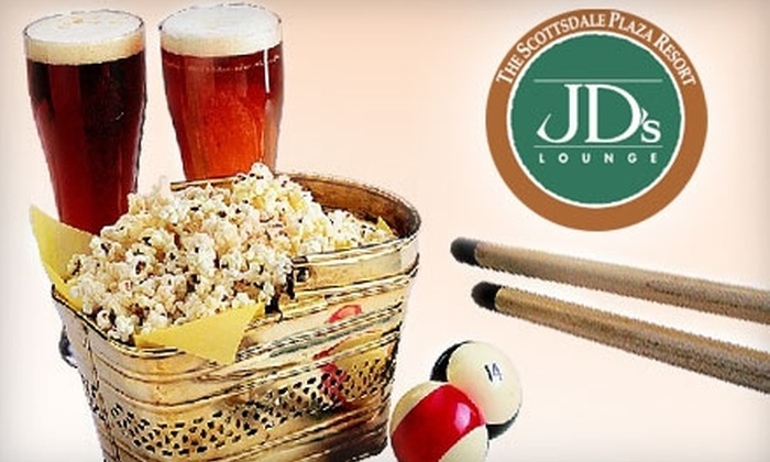 J.D.'s Lounge - Paradise Valley: $15 for $30 Worth of Southwestern Pub Fare and Libations at J.D.'s Lounge at the Scottsdale Plaza Resort in Scottsdale