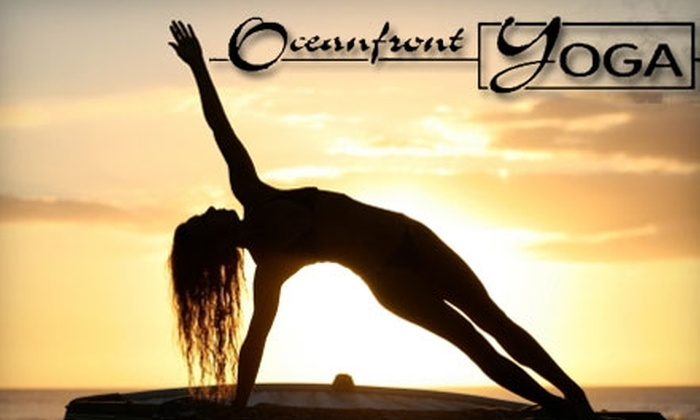 Oceanfront Yoga - Northeast Virginia Beach: $25 for 10 Classes at Oceanfront Yoga ($100 value)