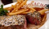 Pistache French Bistro - West Palm Beach: $20 for $45 Worth of Dinner at Pistache (or $10 for $25 Worth of Lunch and Brunch)
