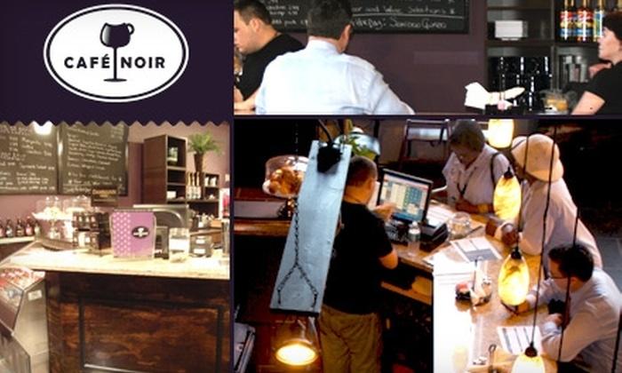 Café Noir - New Orleans: $10 for $20 Worth of Food & Drinks at Café Noir