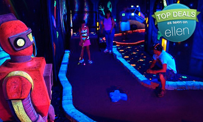 Lazer Port Fun Center - Pigeon Forge: $25 for Four Hours of Unlimited Laser Tag, Go-Karting, and Mini Golf at Lazer Port Fun Center in Pigeon Forge (Up to $240 Value)