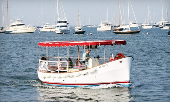 Shearwater Excursions - Nantucket: Harbor Boat Tour with Ice Cream for Two or Four from Shearwater Excursions in Nantucket (Up to 54% Off)