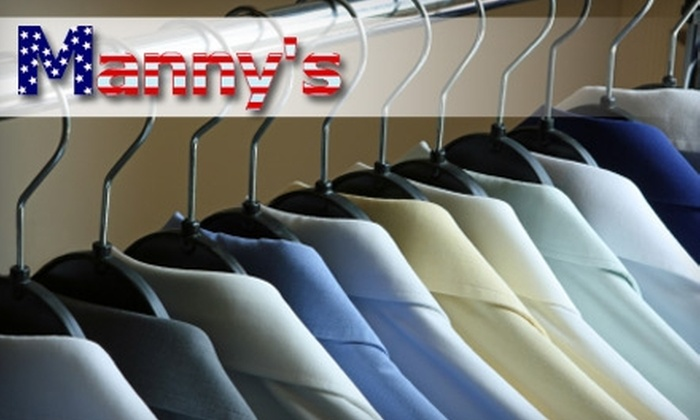 Manny's Cleaners - Forest Hills: $10 for $25 Worth of Garment-Cleaning Services at Manny's Cleaners