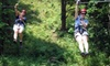 Dagaz Acres Leadership Center and Zipline Adventure Course - Rising Sun: $40 for a Guided Zipline Tour from Dagaz Acres Leadership Center and Zipline Adventure Course in Rising Sun ($70 Value)