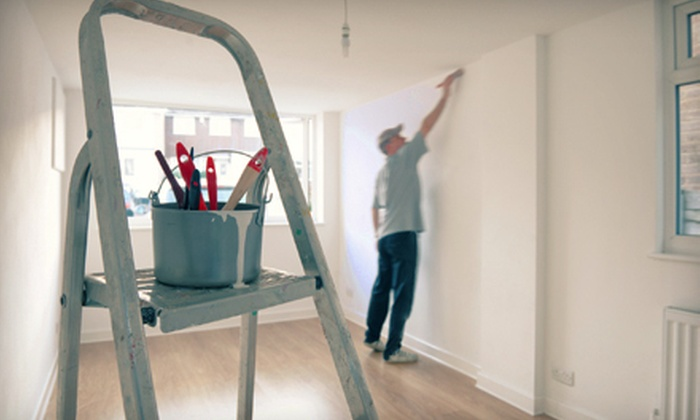 Fresh Look Painting - Goose Island: Interior Painting for One or Two Rooms from Fresh Look Painting (Up to 56% Off). Four Options Available.