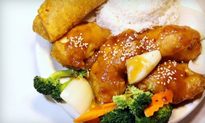 House of Lee - Pittsburgh: $10 for $20 Worth of Chinese Cuisine and Sushi at House of Lee