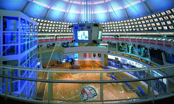 Naismith Memorial Basketball Hall of Fame - Springfield: $17 for a Visit for Two to the Naismith Memorial Basketball Hall of Fame (Up to $34 Value)