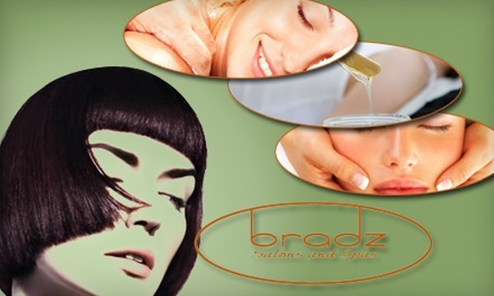 Bradz Salon and Spa - Multiple Locations: $55 for Two Treatments at Bradz Salon and Spa