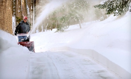 1 Snow Removal Including Sidewalks ($35 value) - Rome's Landscape in
