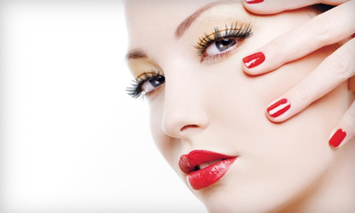 Posare Salons - Multiple Locations: Half or Full Set of Eyelash Extensions at Posare Salons (Half Off)