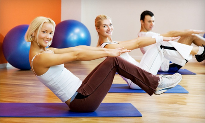 Life Clubs - Lawrence: Three or Six Group or Private Pilates Sessions at Life Clubs in Lawrence (Up to 70% Off)