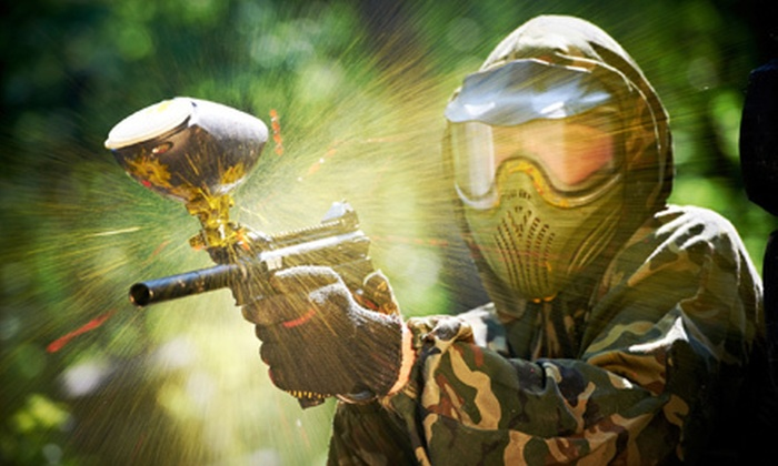 Paintball Nation - Multiple Locations: $20 for a Weekend Paintball Outing for Two with Equipment and Paintballs at Paintball Nation (Up to $97.50 Value)