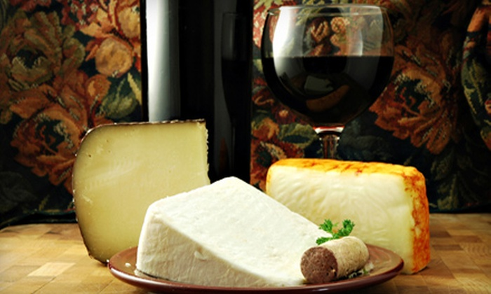 Vaso de Vino Wine Market - Biltmore Park: $12 for a Wine Tasting with Cheese Plate for Two and Bottle of Wine at Vaso de Vino Wine Market in Arden (Up to $24 Value)