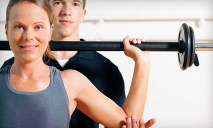 Ames Racquet & Fitness Center - Multiple Locations: $19 for One-Month Membership and One 45-Minute Personal-Training Session at Ames Racquet & Fitness Center ($110 Value)