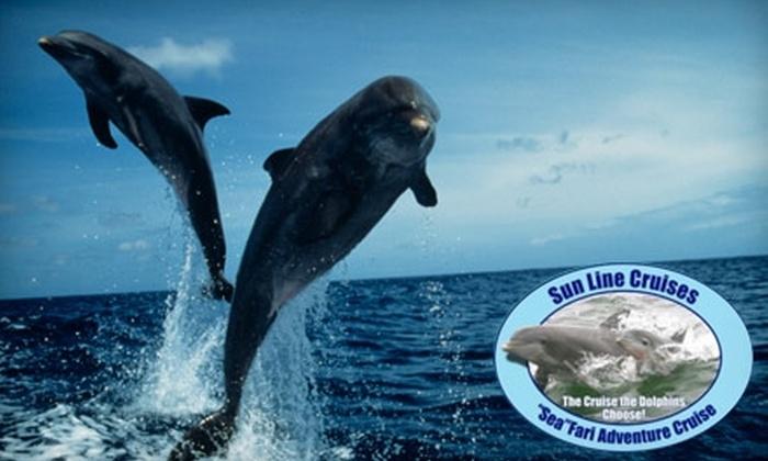 Sun Line Cruises - Tarpon Springs: $9 for Island Adventure Cruise and Tour from Sun Line Cruises (Up to $20 Value)