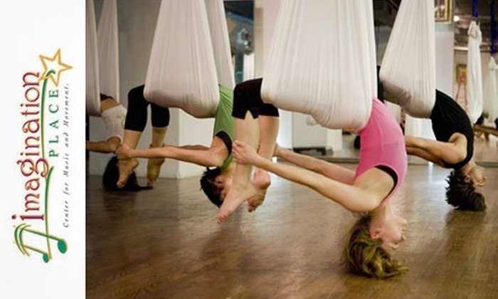 Imagination Place - Sugar House: $25 for a Four-Class Pass to AntiGravity Yoga at Imagination Place