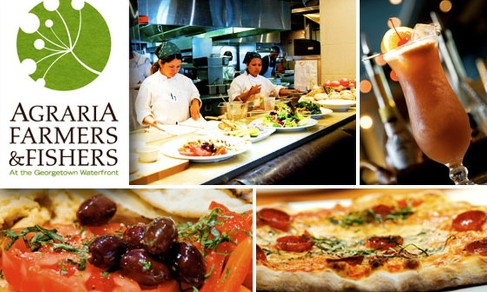 Agraria Farmers & Fishers - Washington: $25 for $50 Worth of Food and Drink at Agraria Farmers & Fishers