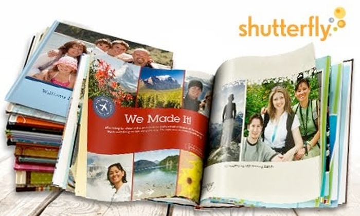 "Shutterfly: $10 for an 8""x8"" Photo Book New Shutterfly Customers from Shutterfly ($29.99 Value)"