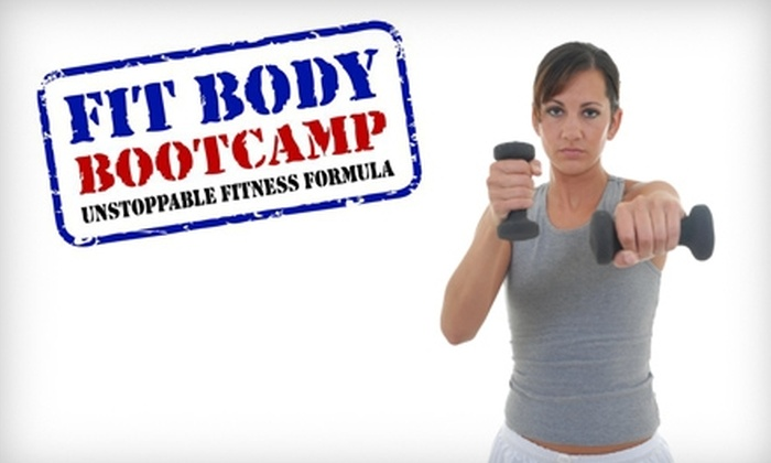 Fit Body Boot Camp - Bakersfield: $37 for One Month of Bakersfield Fitness Boot-Camp Classes at Fit Body Boot Camp