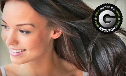 3 Shampoo, Conditioning, and Blowout Services (up to a $135 value)  - Beauty Bar  in Toledo