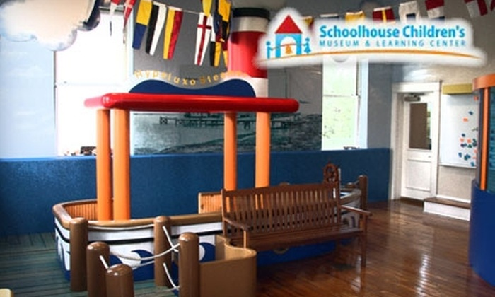 Schoolhouse Children's Museum and Learning Center - Boynton Beach: $25 for a Basic Membership to the Schoolhouse Children's Museum and Learning Center in Boynton Beach ($50 Value)