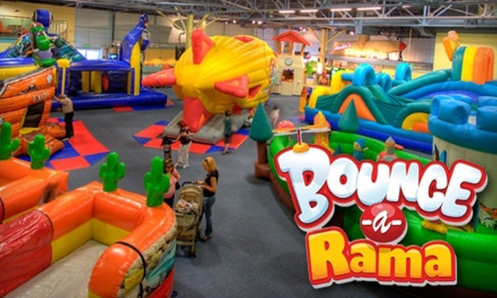 Bounce-a-Rama - Milpitas: $15 for Two All-Day BouncePasses to Bounce-A-Rama in Milpitas